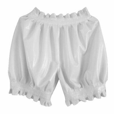 Hot Sale Short Pants 100% Latex Rubber Gummi Shorts Ruffle Lose Hose 0.4mm S-XXL 2