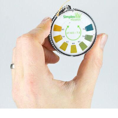 Alkaline pH Test Litmus Paper Strips 4.5 - 7.5 for Water Urine & Saliva 5M Roll