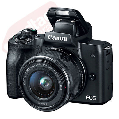 Canon EOS M50 Mirrorless Digital Camera with 15-45mm EF-M IS STM Lens Black 2