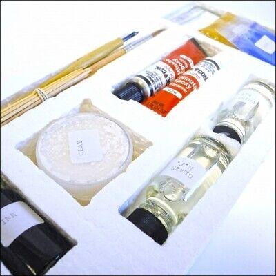 Curator Enamel and Porcelain Clock Dial Repair Kit Dial Restoration - HE15 2