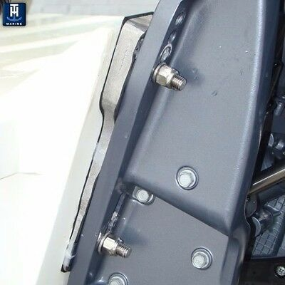 TH-Marine Transom Wedge 5 Degree Trim Yamaha Honda Suzuki Force Tohat TW-2-DP MD