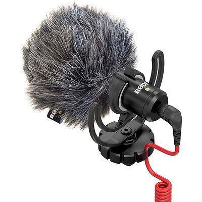 Rode VideoMicro Rycote Lyre Shock Mount On Camera Recording Microphone 3