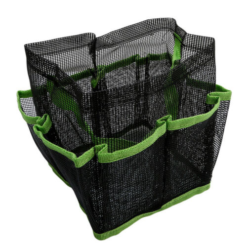 PORTABLE HANGING BATH Space Shower Organizer Mesh Toiletry Caddy ...