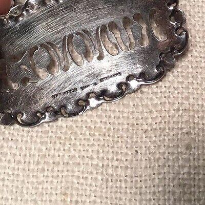 Tiffany & Co. Antique Sterling Silver Ornate Kummel Liquor Label 5