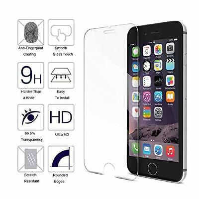 3x Panzerfolie Glas für iPhone 7 iPhone 8 Panzer Display Echt Glas 9H Schutzglas 2