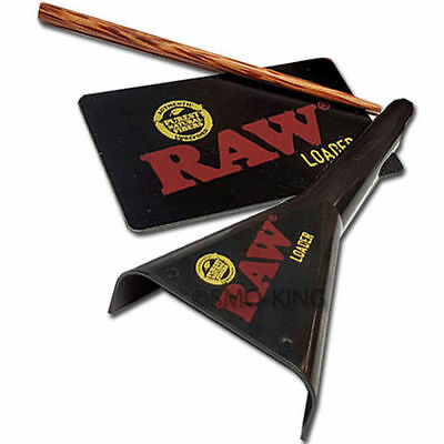 RAW Loader - RAW Cone Filler With 19 dram pop top +  free  Zeppellin  Blimpifier 2