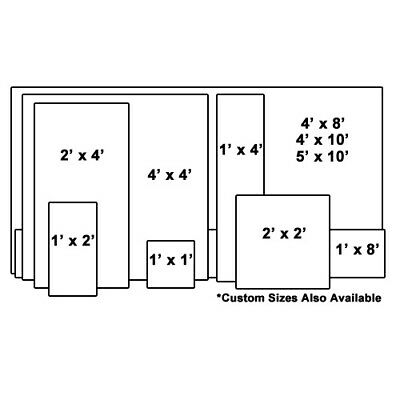 """304 Stainless Steel Sheet 16 Gauge 0.0625 inch 1.59 mm Price per Square 16"""" inch 4"""
