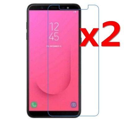 For Samsung Galaxy J4 J6 J8 2018 9H Tempered Glass Screen Protector Film 2Pcs