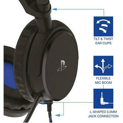 PS4 Gaming Chat Headset with Mic Officially Licensed PRO4-50s PlayStation 4 NEW 4