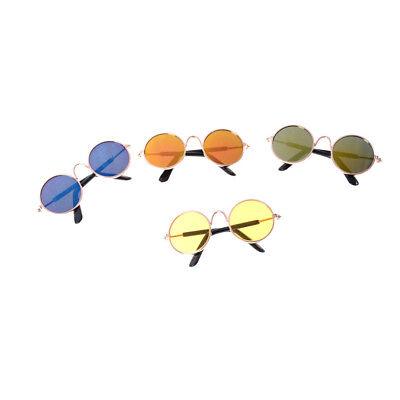 e30561055c6395 1 sur 6Livraison gratuite Accessoires de poupée rond lunettes de soleil  verres colorés pourBJD 18