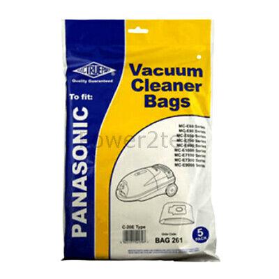10 x C-20E Vacuum Bags for Panasonic MC-CG710 MC-E1000 MC-E1010 Hoover UK