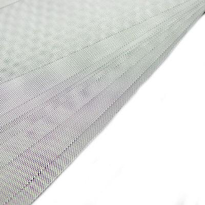 10M 20M 30M Gutter Guard DIY Aluminium Deluxe Leaf Mesh Home Silver 100x20cm 2