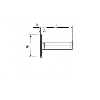 25 Stück Sammy® Schrauben M4X10 großer Flachkopf,sehr niedrig Torx Edelstahl A2