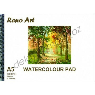 A5 Watercolour Pad 280gsm Atrist Painting Art Paper Sketchbook Sketch Drawing 7
