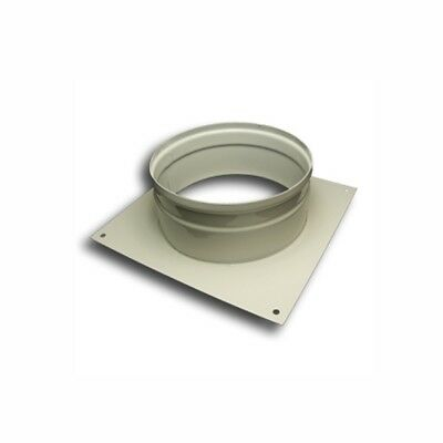 Ducting Wall Plate Spigot 125mm Hydroponic Grow Room Ventilation