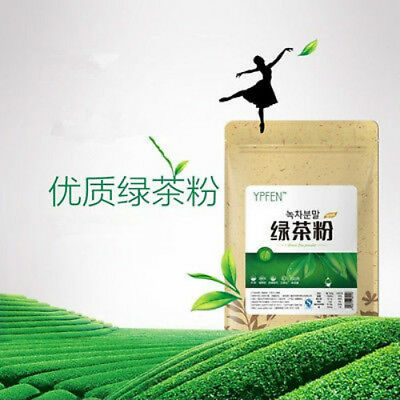 100g  Japonais Thé Vert Poudre de Matcha Thé Minceur Biologique 100% Naturel 抹茶粉 2