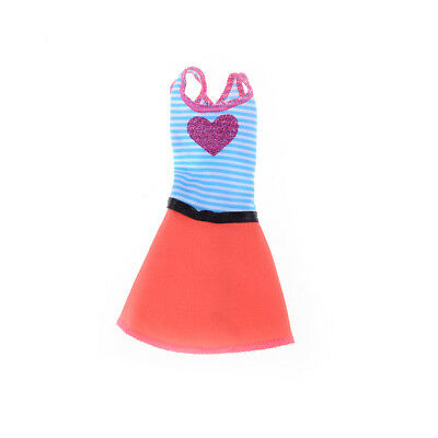 Beautiful Handmade Fashion Clothes Dress For  Doll Cute Lovely Decor S! 6
