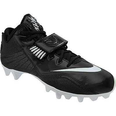 new arrivals 589ce 01277 ... Nike CJ81 Strike 2 TD Men s Football Cleats 678119-010 Calvin Johnson  Megatron 2