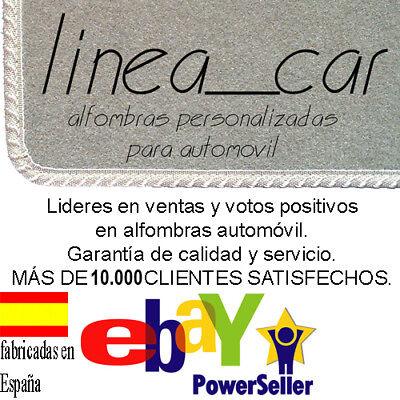 Alfombrillas coche Citroen Xsara Picasso a medida con fijaciones 2