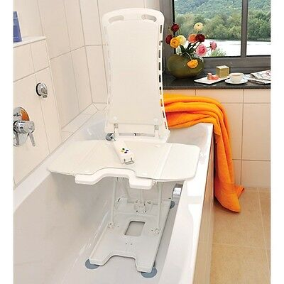 Bellavita bath lift lightweight and compact reclining mobility chair