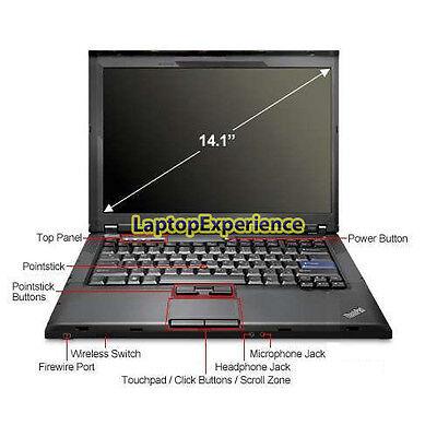 IBM LENOVO LAPTOP THINKPAD T400 WINDOWS 10 WIN DVDRW WiFi CORE 2 DUO 2.26GHz PC 7