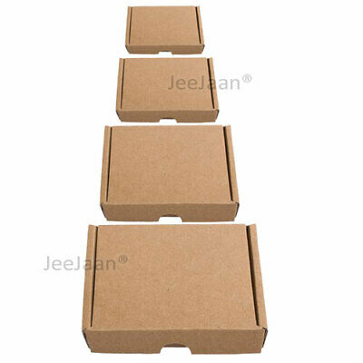 PiP Cardboard Boxes Royal Mail Large Letter Postal Mailer Mini A6 DL A5 A4 Brown 2