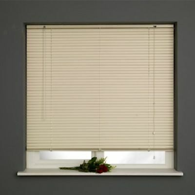 New PVC Blinds Window Venetian Easy Fit Blinds Home Office Wood Effect All Sizes 5