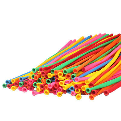 20-100pcs New Party Modelling Balloons Mixed Colours Latex 260Q Traditional 7