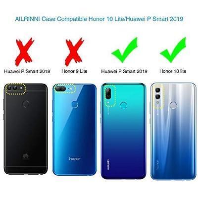 Cover Custodia + Pellicola Vetro Temperato Per Huawei P Smart 2018 2019 2