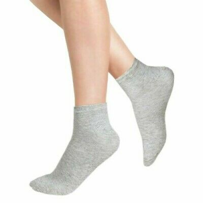 12 Pair Women Men No Show TRAINER SOCKS INVISIBLE Ankle Liner Cotton Sport Socks 3