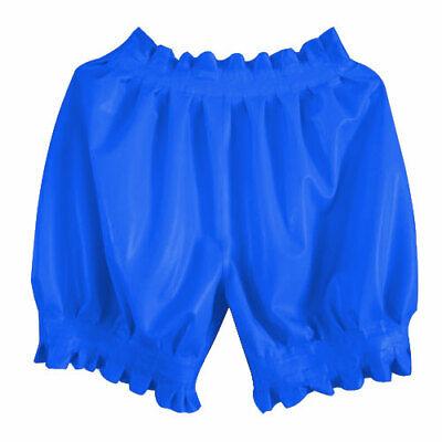 Hot Sale Short Pants 100% Latex Rubber Gummi Shorts Ruffle Lose Hose 0.4mm S-XXL 4