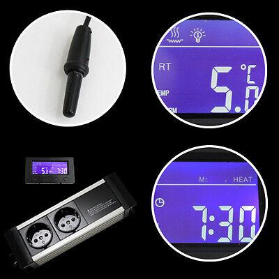 Thermostat Thermo Zeitschaltuhr Alarm Aquarium Terrarium **externes Display* Txa 4