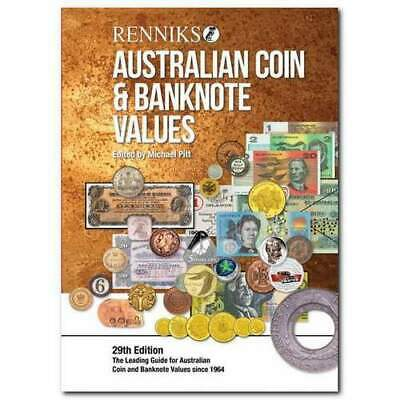 2019 Renniks Australian Coin & Banknote Values Book 29th Edition (Softcover) 2