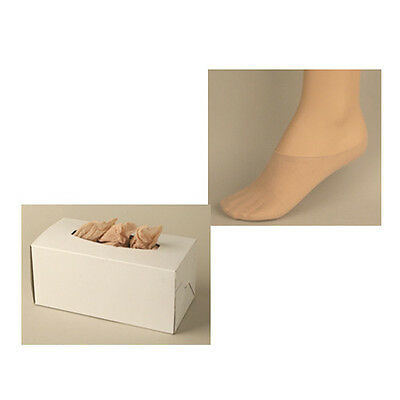 Foot Sox, Disposable Try on Peds / Footies / Socks / For WOMEN, Beige, 144 Pack 2