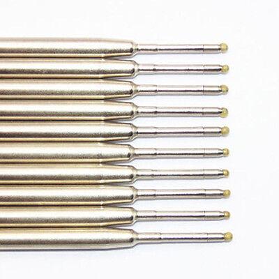 10pcs Blue/ Black Ink Parker Compatible 0.5mm Recambios Bolígrafo Último 4