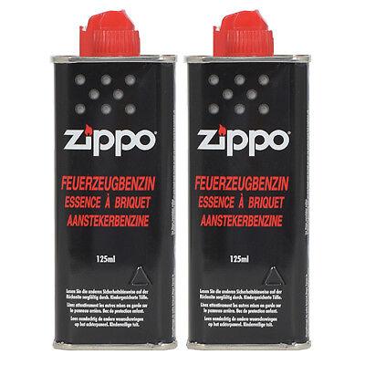 Feuerzeugbenzin ZIPPO Original Benzin je 125 ml Zippo Feuerzeuge - Benzin Set