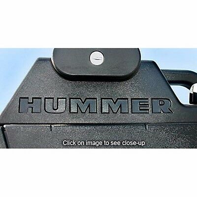 2003-2010 GMC HUMMER H2 Tailgate Rear Vinyl Letters Chrome Inserts Stickers Trim