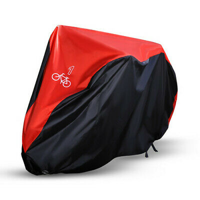 Single/Double/Triple Bicycle Bike Cycle Cover Waterproof Rain Dust Sun Protector 8