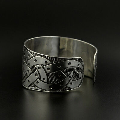 2 Of 4 Uni Octopus Cuff Bracelet Hand Engraved Sterling Silver Oxidized Native Art