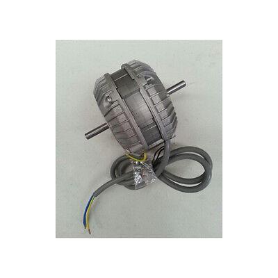 High quality heavy duty 10 Watt Round Condenser Fan Motor(Dual Shaft)