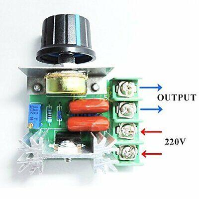 A22. Regolatore di velocità motore tensione regolabile PWM 2000w 50v-220v dimmer 2