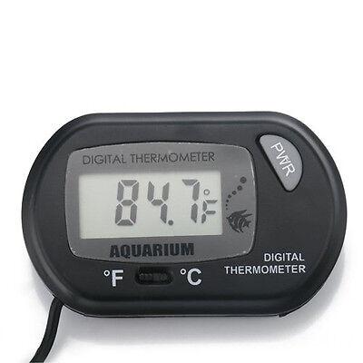 LCD Digital Fish Tank Reptile Aquarium Water Marine Thermometer Temperature 5