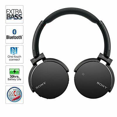 Sony MDRXB650BT/B Extra Bass Bluetooth Headphones, Black 2