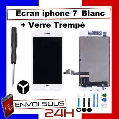 ECRAN LCD VITRE TACTILE NOIR BLANC IPHONE 7 /  7 plus  iphone 8 OU 8 PLUS 7