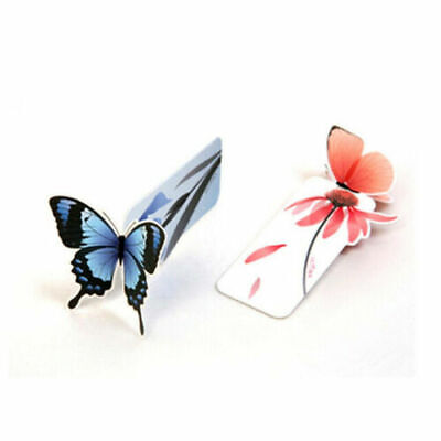 1 x New Butterfly Shape Book Markes Exquisite Wings Open Valentine's Gift 4