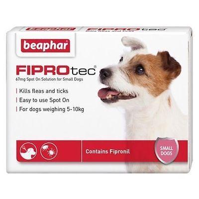 Beaphar Fiprotec Pulgas Spot-On para Pequeños Mediana Grande XL Dogs&cats 3