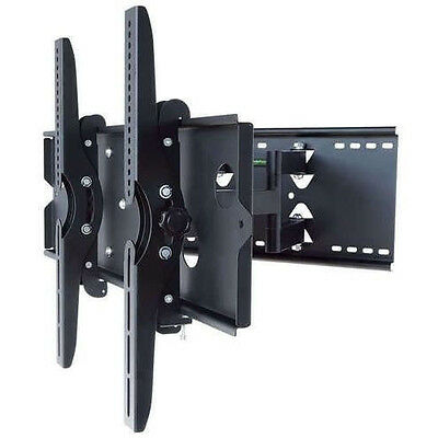 "Full Motion Universal HD 4K TV Tilting Wall Mount for 30"" - 85"" Screens!"