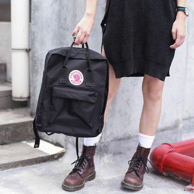 7L/16L/20L unisex Fjallraven Kanken Backpack Travel spalla scuola borse Marca 4