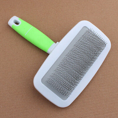 Handle Shedding Pet Dog Cat Hair Brush Pin Fur Grooming Trimmer Comb+Gifts 2