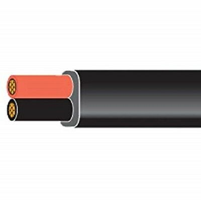 Twin Core White Automotive cable Black//Red DC 12v 24v 1mm 2mm 16.5 amp 25amp